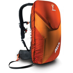 ABS Vario Base Unit incl. 8L Zip-On Red/Orange